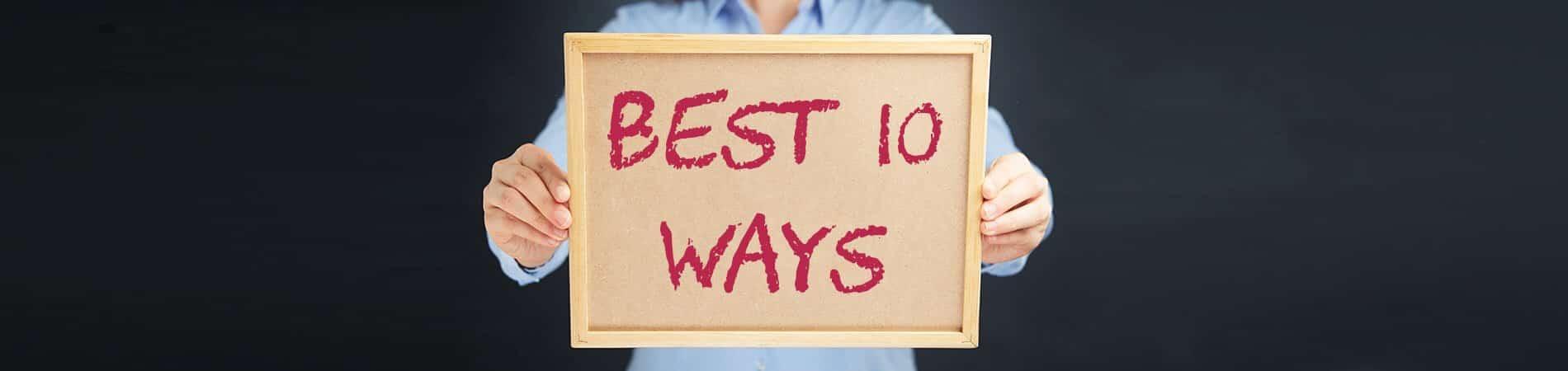 Best 10 Ways to Manage Your Finances